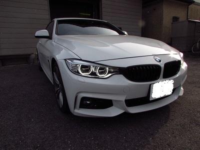 画質も最高!!定番BMW4シリーズF32型にインターフェースと地デジチューナー取付!