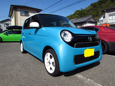 愛車をかわいく見せるなら!女の子はこの車高調をつけるべし!ホンダN-ONEにクスコストリート取付!