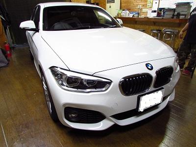 視界良好!BMWF20ベロフワイパー交換!
