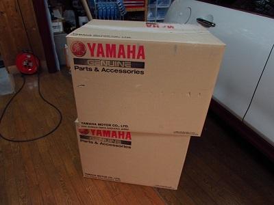 YAMAHA FJR1300 純正サイドケース マットシルバーラッピング!