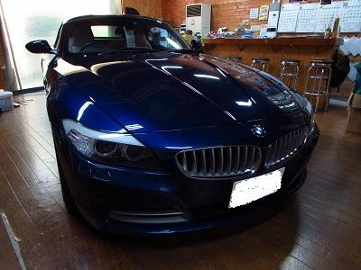 後ろを見やすく!!BMW Z4 E89 にインターフェース;バックカメラ取付!