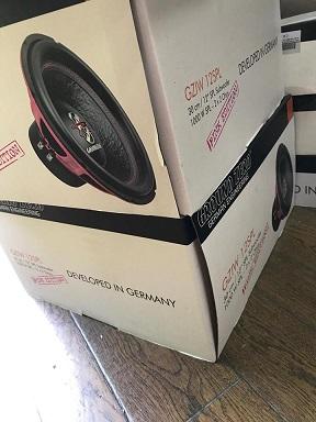 ピンクの限定品!スペーシアにグラウンドゼロサブウーファーカスタムボックス製作!