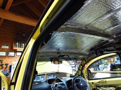 後編【動画あり】フランスのオシャレな商用車弱点克服!!ルノーカングーにルーフデッドニング+スピーカー+チューンナップウーファー取付。