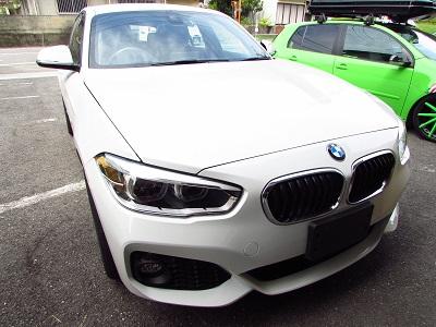 BMW118iにインターフェース+地デジチューナー取付!