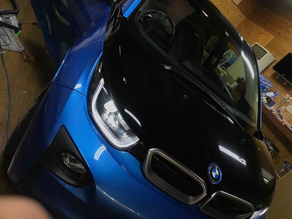 BMWi3にグラウンドゼロオーディオアップグレードキット取付!