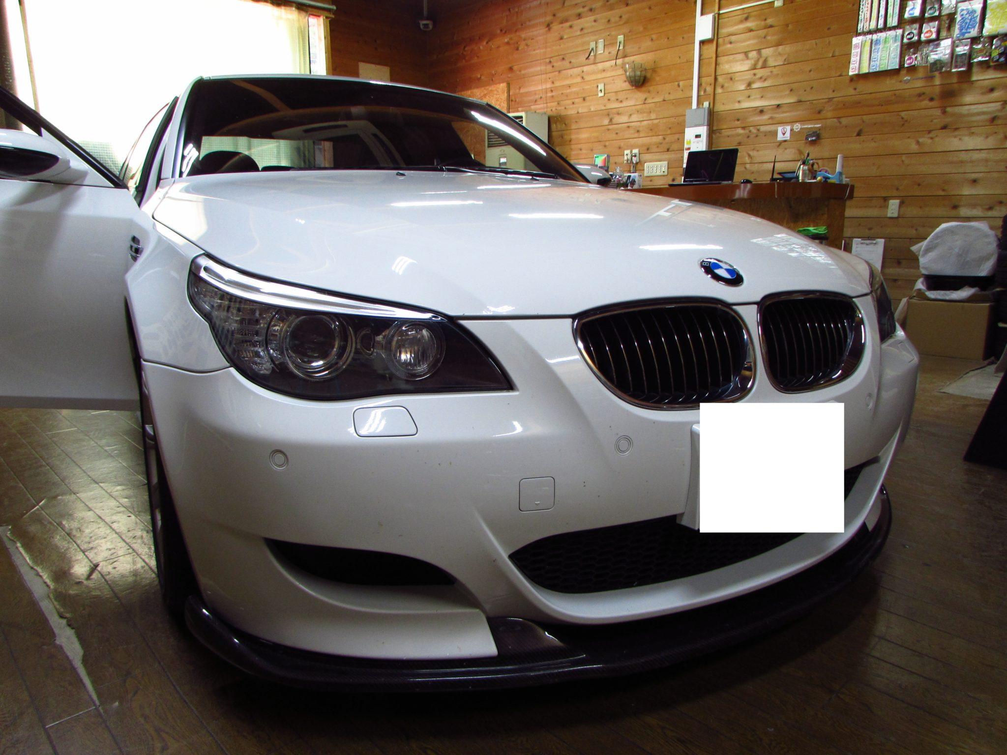 BMW E60 M5後付けインターフェース修理!