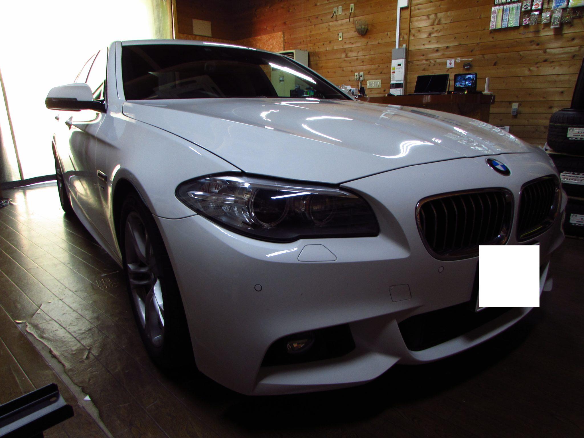 今は入荷を待つしかない。BMW F10にドライブレコーダ取付!