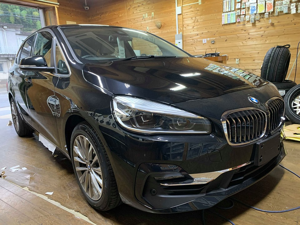 BMW2シリーズ(F45)アクティブツアラーに地デジチューナー取付!