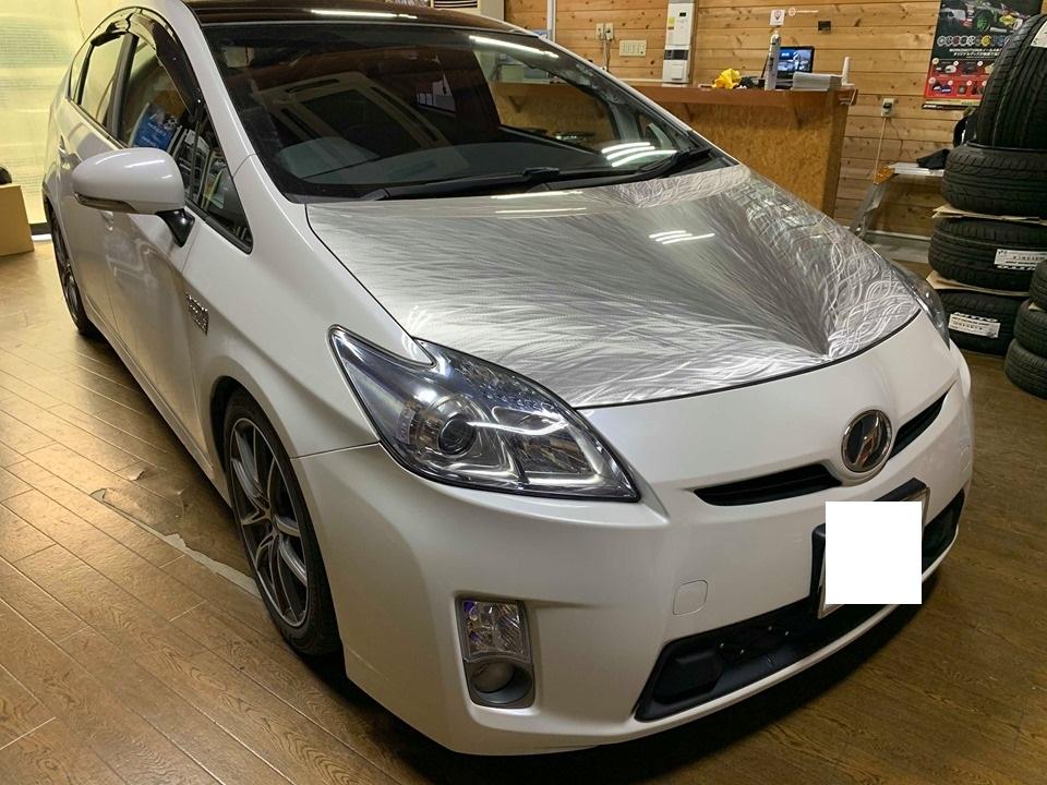 パーフェクトパッケージスタート!JLオーディオC1シリーズプリウス専用キット取付!