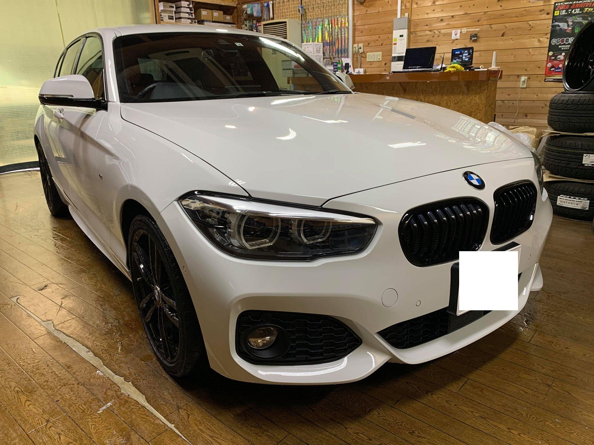 BMWのスピーカーをサウンドアップ!F20にグラウンドゼロトレードインスピーカー取付!