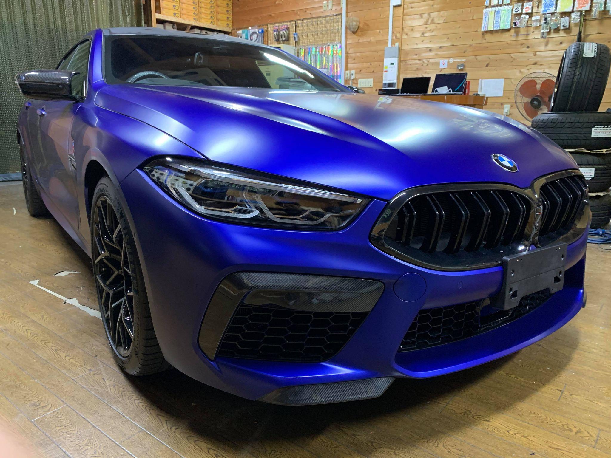 唯一無二のスポーツカーにマルチメディア対策でエンタメ充実!BMW M8 F93 Competitionにインターフェース取付!